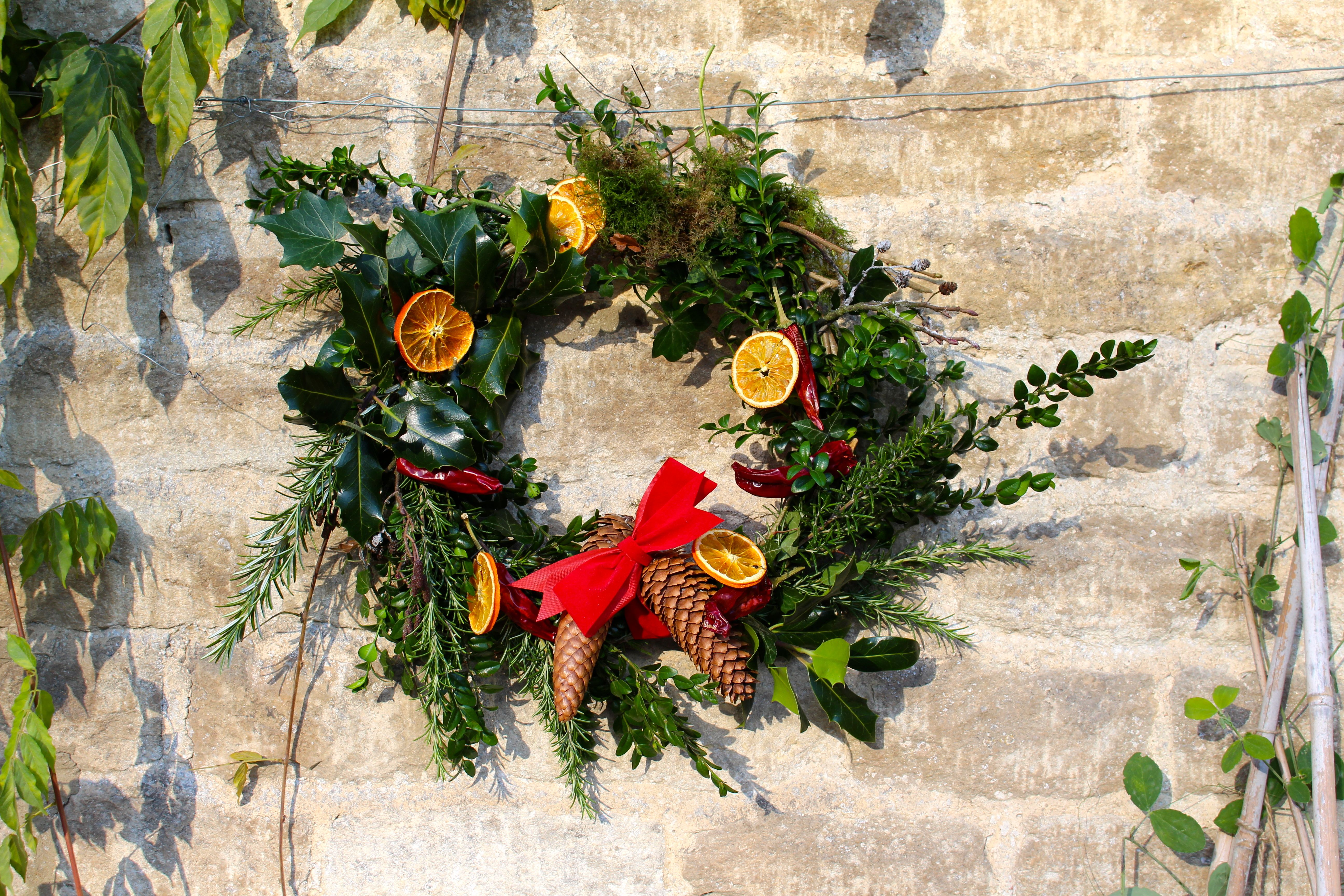 Christmas Wreath Making The Miller S Daughter