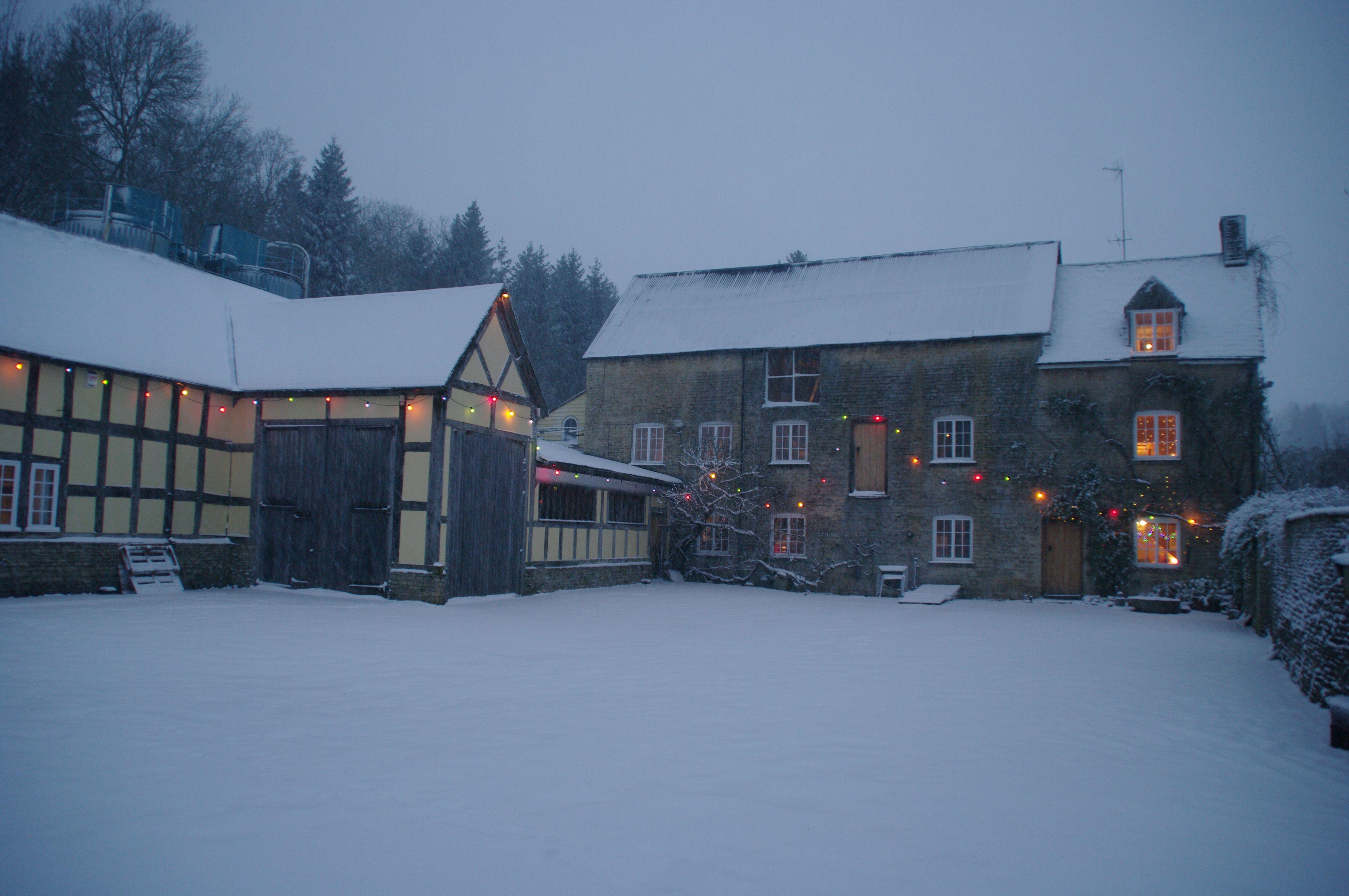 snow mill fairylights